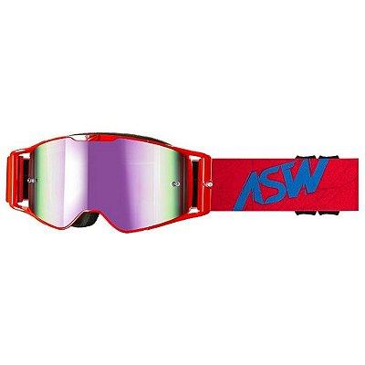 Óculos ASW A3 Matrix Vermelho/Azul