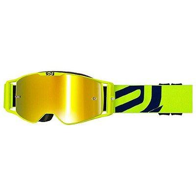 Óculos ASW A3 Giant Amarelo Fluor/Azul