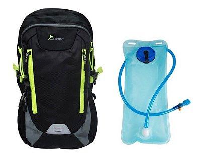 Mochila Esportiva com Bolsa de Hidratação Ysport - YS29011