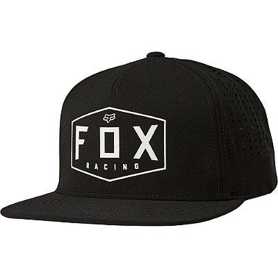 Boné Fox Crest Preto Snapback