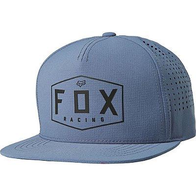 Boné Fox Crest Azul Snapback