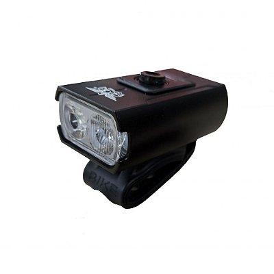 Farol LED Sinalizador Dianteiro Recarregável USB JY-7592