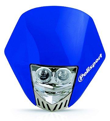 Farol HMX LED Duplo Polisport Azul