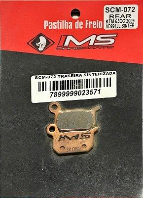 Pastilha de Freio Traseira Sinterizada IMS para KTM65CC 09/12 85SX 03/10