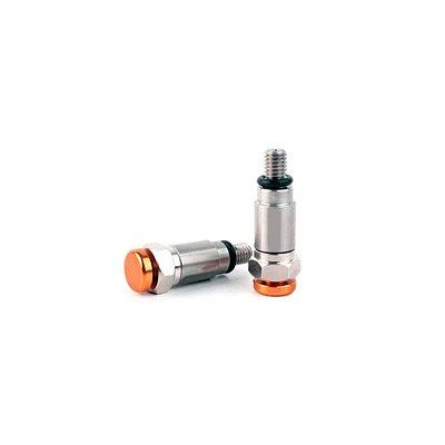 Válvula de Alívio de Suspensão 4mm Laranja Lizard Parts