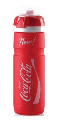 Garrafa Squeeze Caramanhola Elite Supercorsa Coca-Cola - Vermelho 750ML