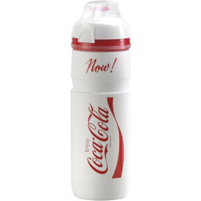 Garrafa Squeeze Caramanhola Elite Supercorsa Coca-Cola - Branco 750ML