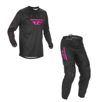 Conjunto Calça + Camisa Fly F16 2021 Pink/Preto