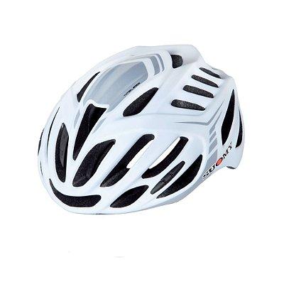 Capacete Suomy Timeless Bike Branco/Prata G