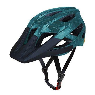 Capacete ASW Bike Accel Frontier Verde
