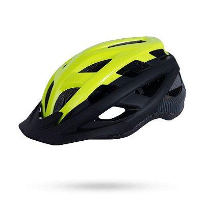 Capacete ASW Bike Fun Amarelo Fluorescente/Preto