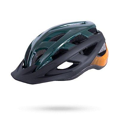 Capacete ASW Bike Fun Verde/Preto
