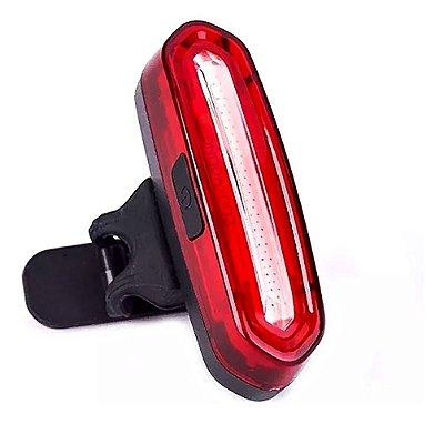 Lanterna de Bike Sinalizador Recarregável Canote Estrobo CL-096
