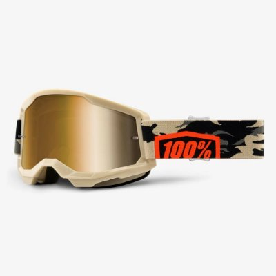 Óculos 100% Strata 2 Kombat Espelhado