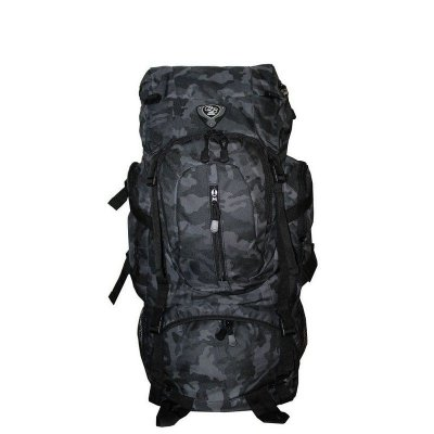 Mochila Camping Camuflado Claro 50 Litros Clio - MC9171