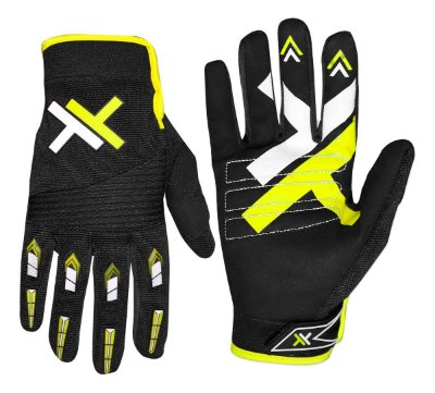 Luva Mattos Racing MX Pro Amarelo