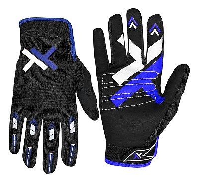Luva Mattos Racing MX Pro Azul