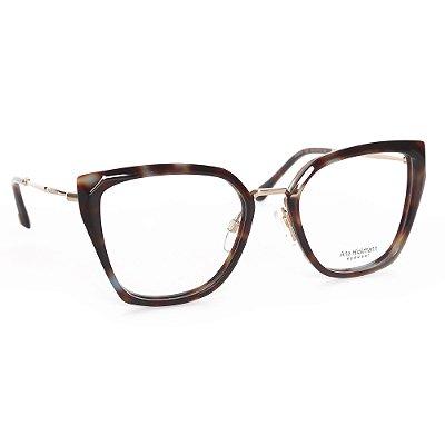 Óculos de Grau Ana Hickmann AH6378G22/54 - Marrom