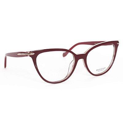 Óculos de Grau Ana Hickmann AH6365E01/53 - Vermelho