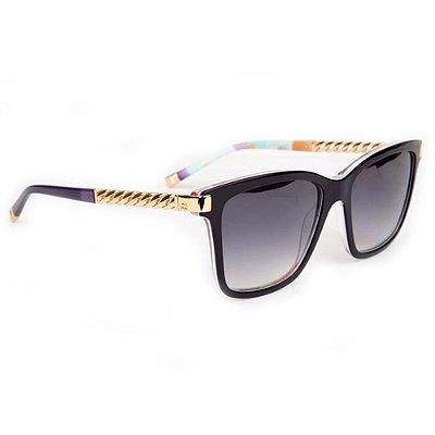 Óculos de Sol Ana Hickmann AH9260 H03/55 Preto