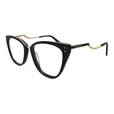 Óculos de Grau Ana Hickmann AH6401 A01/66 - Preto