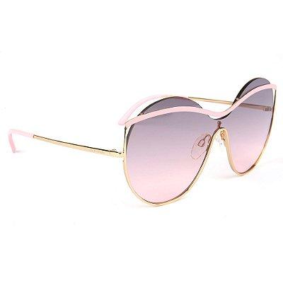 Óculos de Sol Ana Hickmann AH3182 05A/136 Dourado