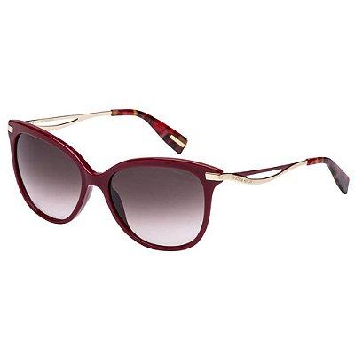 Óculos de Sol Victor Hugo SH1744 01AW/55 Bordô/Dourado