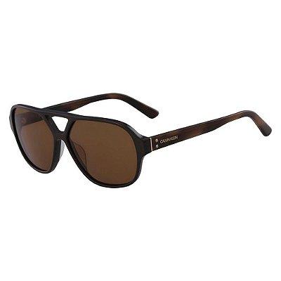 Óculos de Sol Calvin Klein CK18504S 201/59 Marrom Escuro