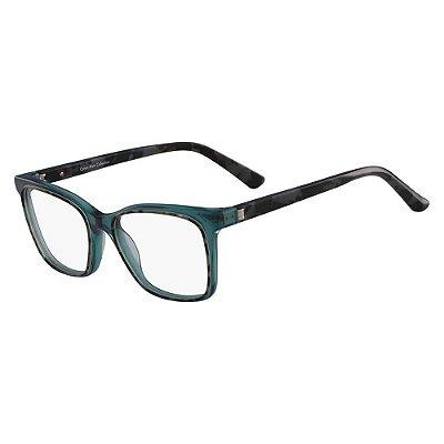 Óculos de Grau Calvin Klein CK8580 425/52 Tartaruga Azul