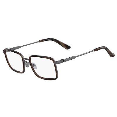 Óculos de Grau Calvin Klein CK8059 015/54 Titanio