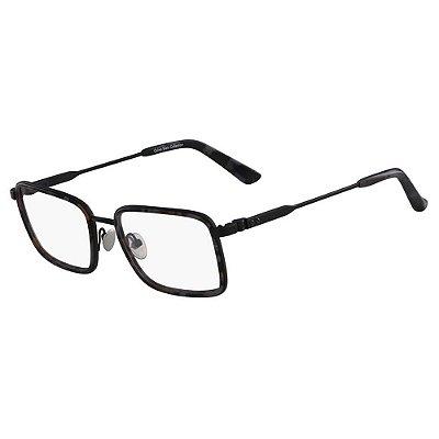 Óculos de Grau Calvin Klein CK8059 007/54 Tartaruga Preto