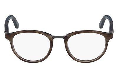 Óculos de Grau Calvin Klein CK8567 205/50 Marrom Marmorizado