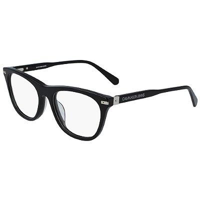 Óculos de Grau Calvin Klein Jeans CKJ19525 001/52 - Preto
