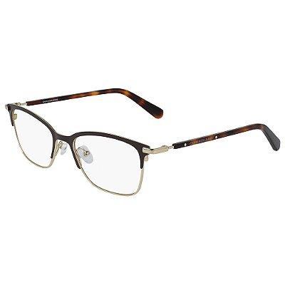 Óculos de Grau Calvin Klein Jeans CKJ19312 210/50 - Marrom