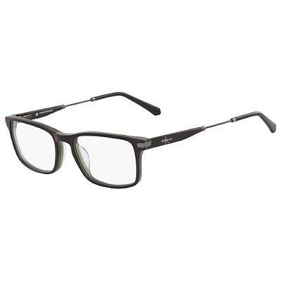 Óculos de Grau Calvin Klein Jeans CKJ18707 075/54 - Marrom