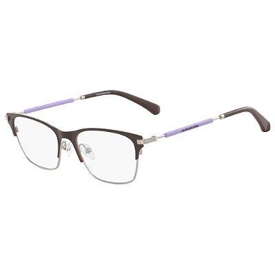 Óculos de Grau Calvin Klein Jeans CKJ18105 201/52 - Marrom