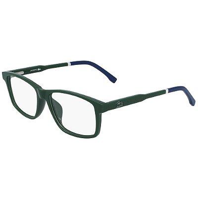 Óculos de Grau Lacoste L3637 315/49 - Verde - Infantil