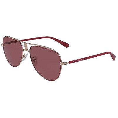 Óculos de Sol Calvin Klein Jeans CKJ19302S 645/56 - Vermelho