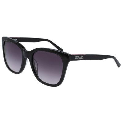 Óculos de Sol Diane Von Furstenberg DVF678S LEIGHA 001/55 Preto - Quadrado