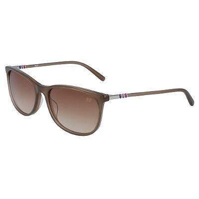 Óculos de Sol Diane Von Furstenberg DVF670S KATHERINA 215/55 Marrom - Retangular