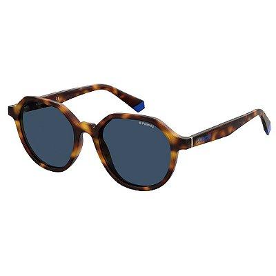 Óculos de Sol Polaroid PLD 6111/S/51 Marrom - Polarizado