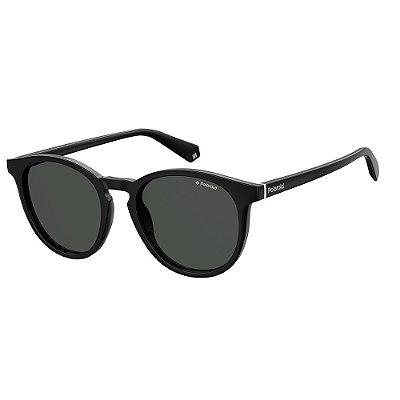 Óculos de Sol Polaroid PLD 6098S - Preto - Polarizado