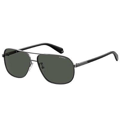 Óculos de Sol Polaroid PLD 2074/S/X/60 - Cinza
