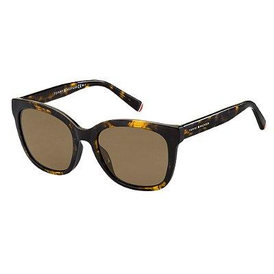 Óculos de Sol Tommy Hilfiger TH 1601/G/S/53 - Marrom