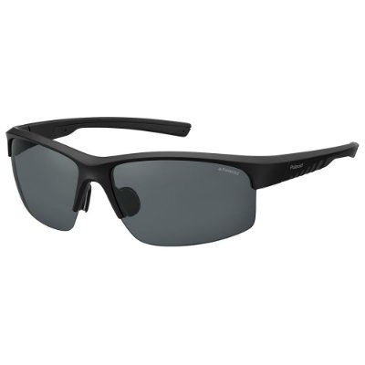 Óculos de Sol Polaroid Sport PLD 7018/S/68 Preto - Polarizado