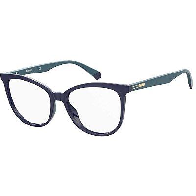 Óculos de Grau Polaroid PLD D406/54 Azul
