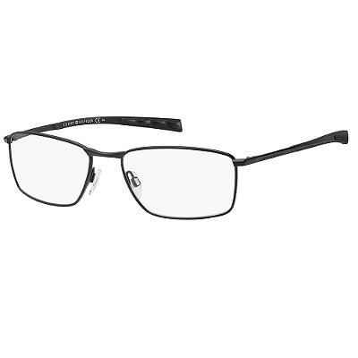 Óculos de Grau Tommy Hilfiger TH 1783/57 - Preto