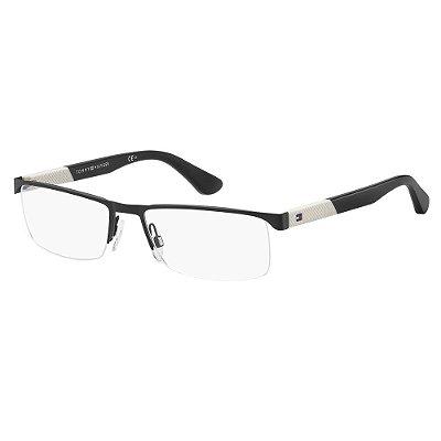 Óculos de Grau Tommy Hilfiger TH 1562/56 - Preto
