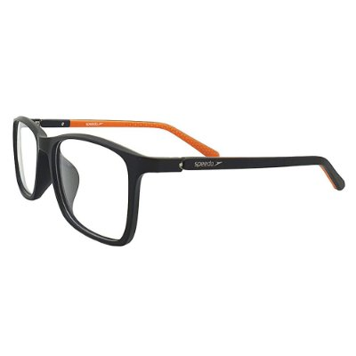 Óculos de Grau Speedo SP7017 A01 - Preto / Laranja