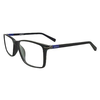 Óculos de Grau Speedo SP7011 A01 - Preto Fosco